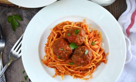 Gluten Free Baked Italian Meatballs Recipe