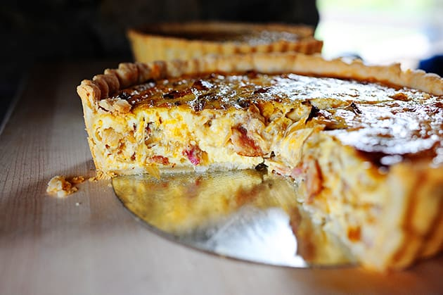 Pioneer Woman Quiche Recipe Embed - Food Fanatic
