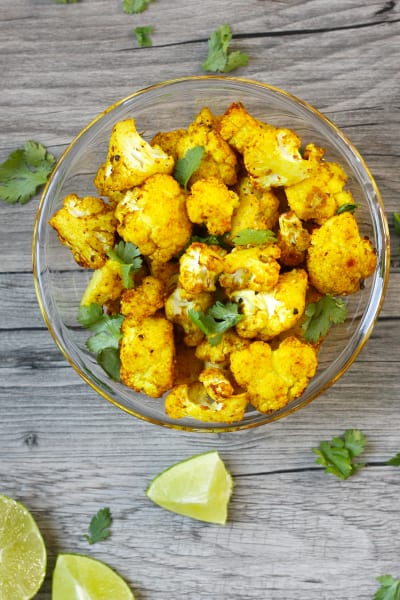 Turmeric Roasted Cauliflower Picture