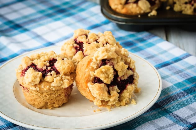Peanut Butter and Jelly Muffins Photo