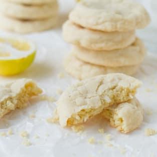 Meyer lemon cookies photo