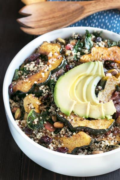 File 3 Harvest Acorn Squash Quinoa Salad