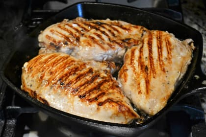 Baked Chicken Breast Temperature