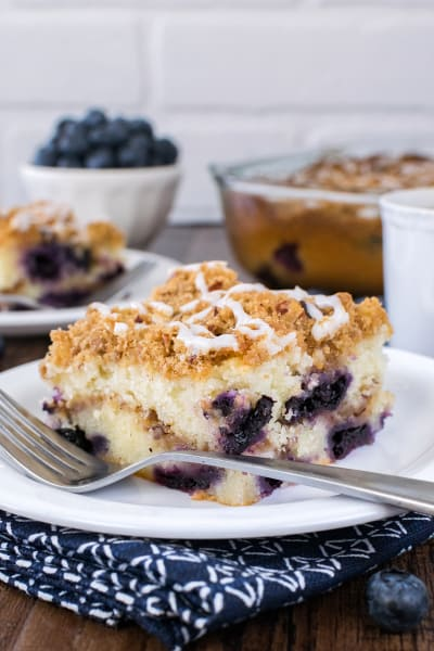 Blueberry Pecan Coffee Cake Picture