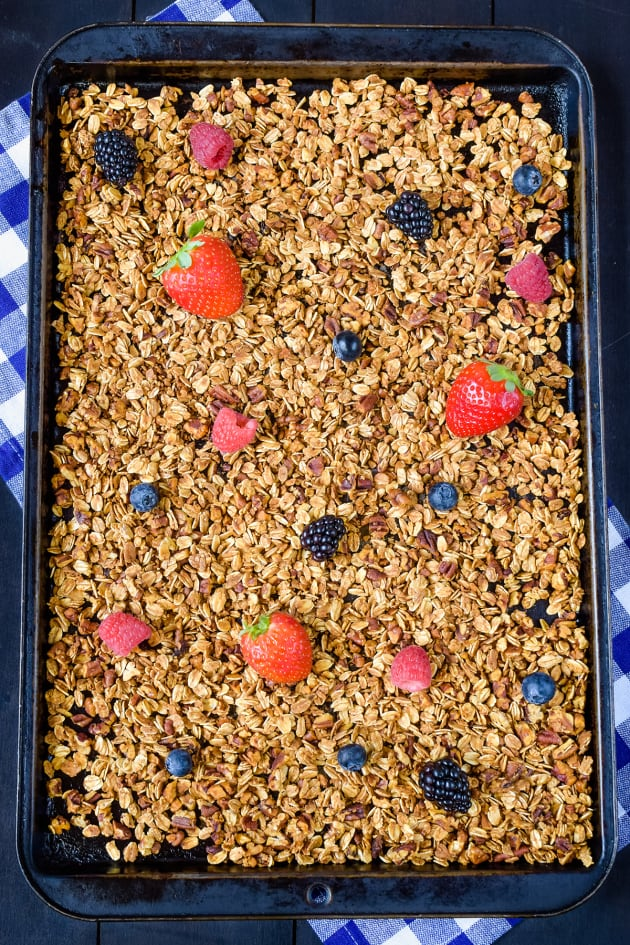 Honey Nut Granola Picture