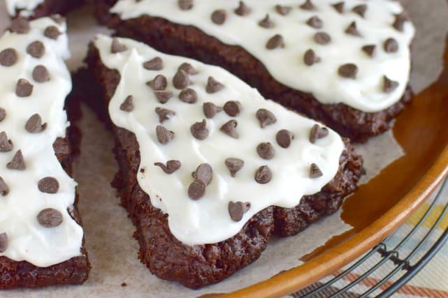糖霜巧克力香蕉烤饼食谱