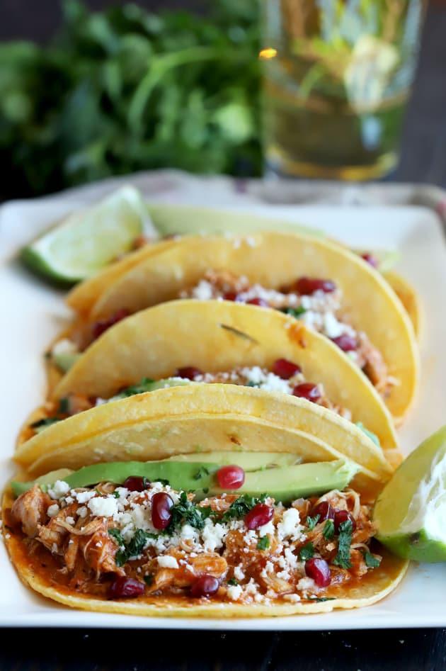 Chicken Tinga Tacos Image