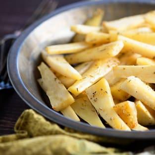 Parsnip fries photo