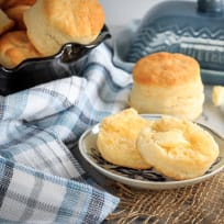 Homemade Cream Biscuits Recipe