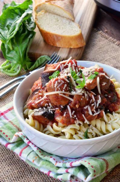 Eggplant Pasta Image