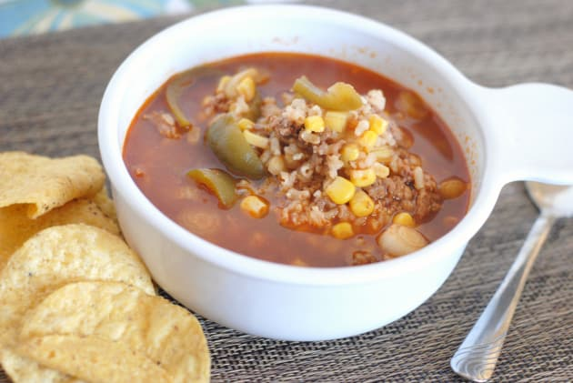 Slow Cooker Stuffed Pepper Soup Picture