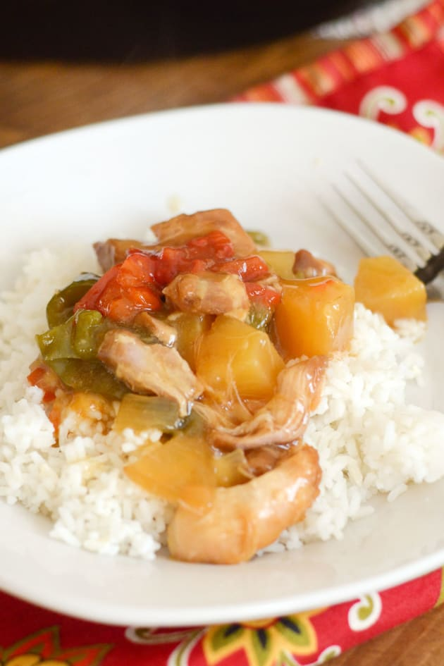 Gluten Free Slow Cooker Sweet and Sour Chicken Picture