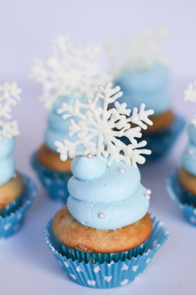 Frozen Cupcakes Picture