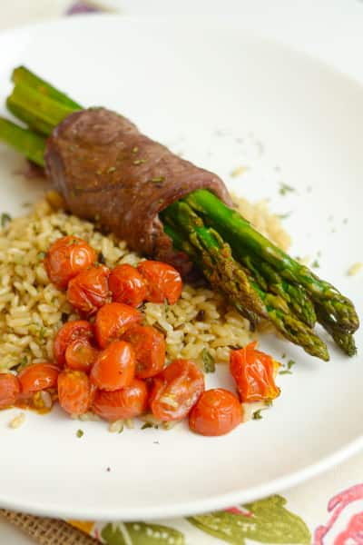 Steak Wrapped Asparagus Picture