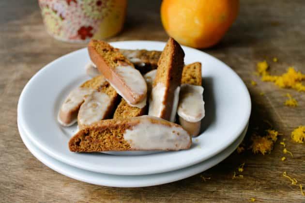 Gingerbread Biscotti Photo