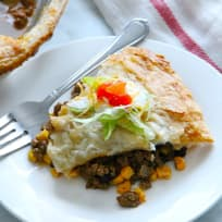 Puff Pastry Taco Pot Pie Recipe