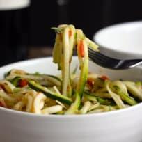 Zucchini Ribbon Salad Recipe
