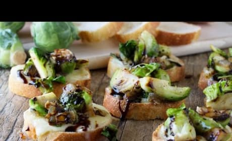How to Make Delicious Brussel Sprout and Brie Bruschetta