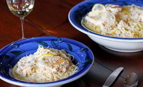 Creamy Lemon Chicken Pasta Image