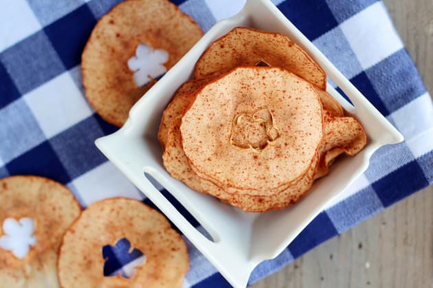 Baked Apple Chips Photo