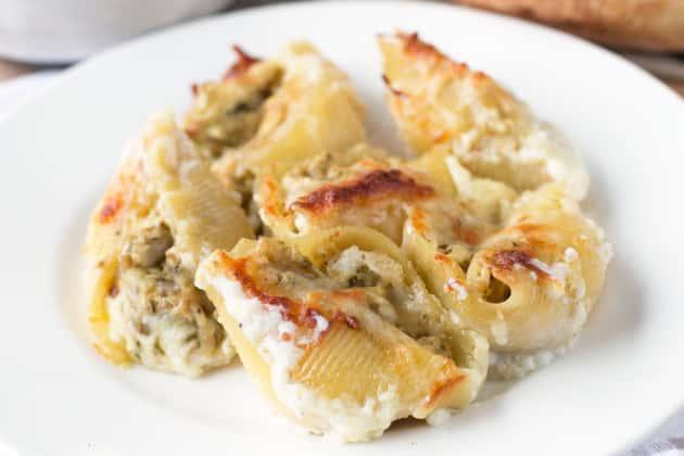 Chicken Avocado Pesto Stuffed Shells Photo