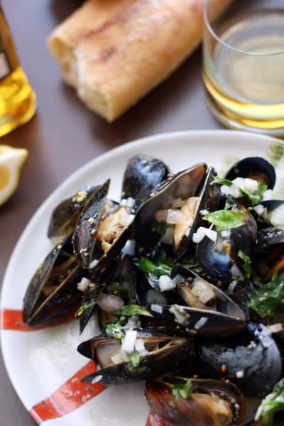 Whiskey Mussels en Papillote Picture