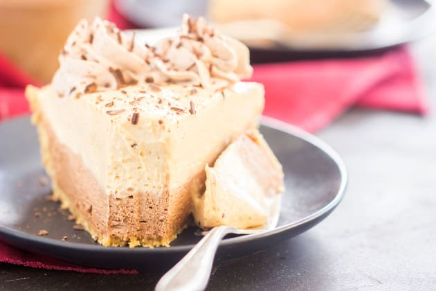 No Bake Chocolate Peanut Butter Pie Photo