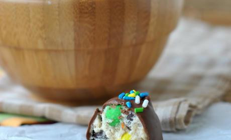 Monster Cookie Dough Truffles Recipe