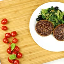 Hamburgers with Scarola Stufata