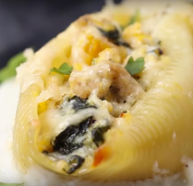 Butternut Squash Stuffed Pasta