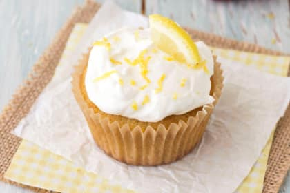 Lemon Olive Oil Cupcakes