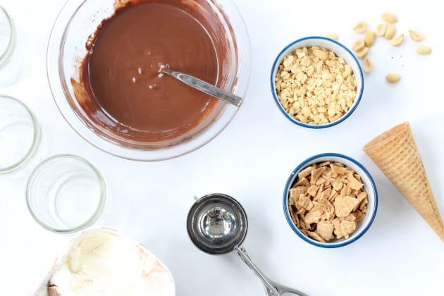 Homemade Drumsticks Ice Cream Image