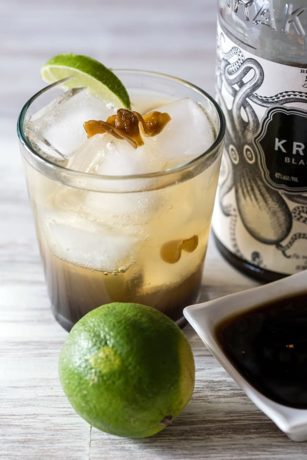Spicy Ginger Rum Cocktail Picture