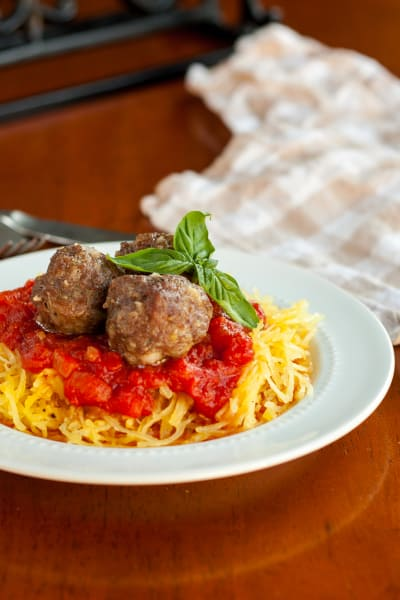 Gluten Free Baked Meatballs Picture