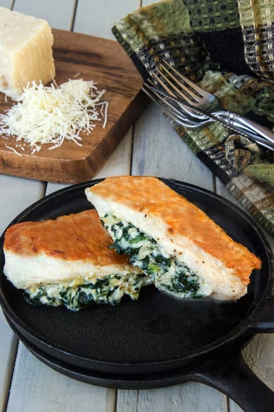Spinach Artichoke Chicken Image