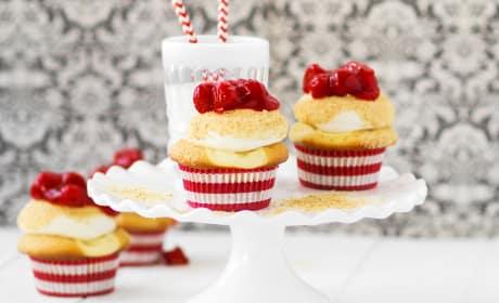 Cherry Cheesecake Cupcakes Recipe
