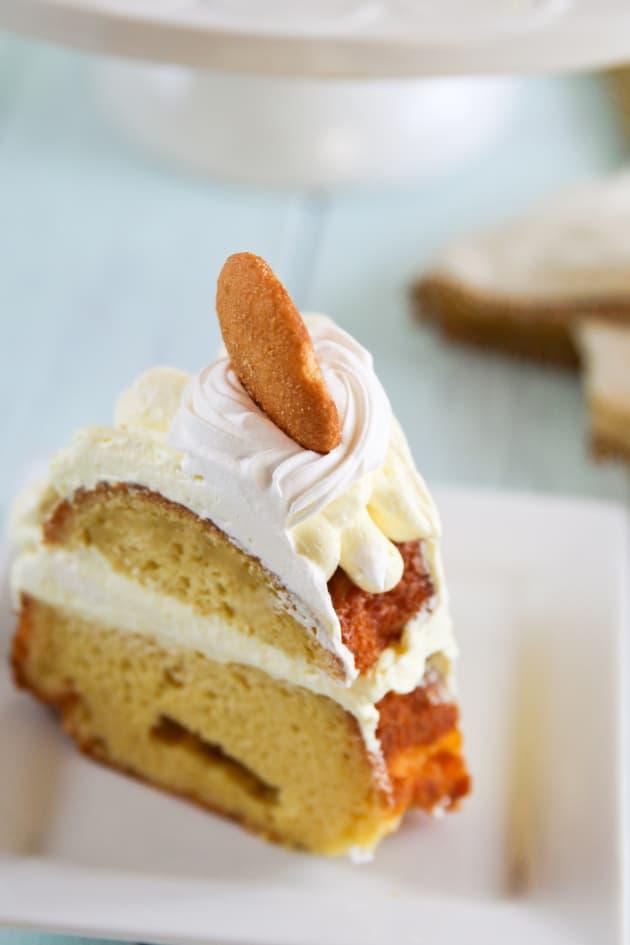 Banana Pudding Bundt Cake Food Fanatic