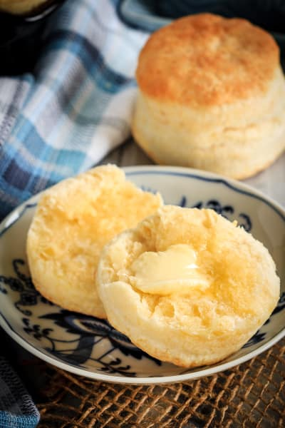 Homemade Cream Biscuits Picture