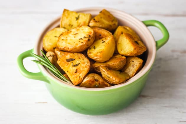 Toaster Oven Rosemary Potatoes Photo