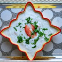 Vegetable Raita   Mixed Vegetable Raita