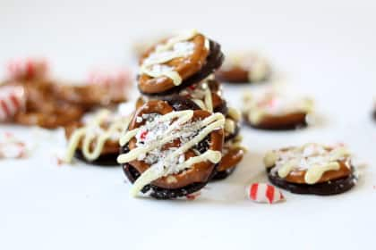 Williams-Sonoma Peppermint Bark Pretzels