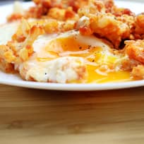 Eggs and Cauliflower in Tomato Sauce
