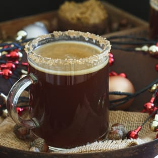 Gingerbread hot buttered rum photo