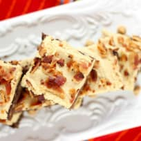 Banana Brownies with Peanut Butter Frosting Recipe