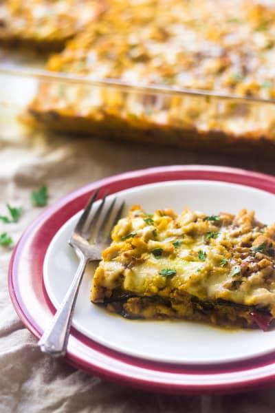 Low Carb Lasagna Picture