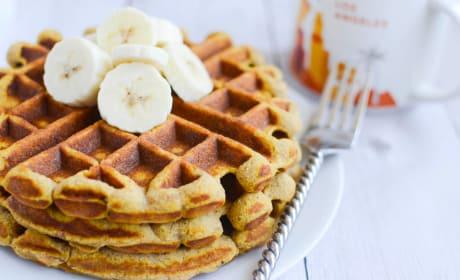 Paleo Pumpkin Waffles Recipe