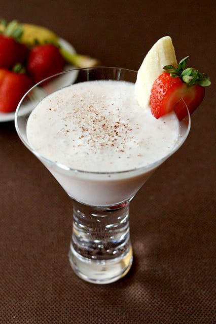 Banana Split Martini Image
