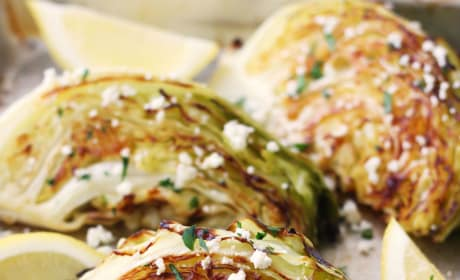 Roasted Cabbage Wedges Picture
