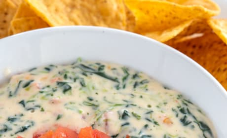 Spinach Cheese Dip Picture