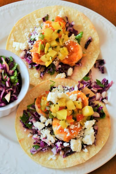 Shrimp Tostadas Picture